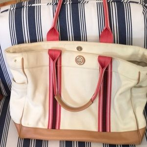 Tory Burch Canvas Tote Bag